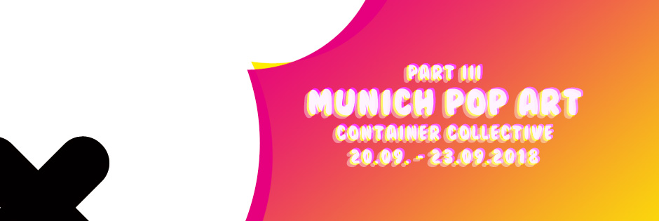 MUNICH POP ART - 20. bis 23. September 2018 München