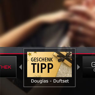 Douglas - Thats Me by Helene Fischer, HbbTV Kampagne