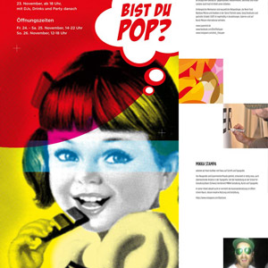 Munich Pop Art II - Flyer, Poster